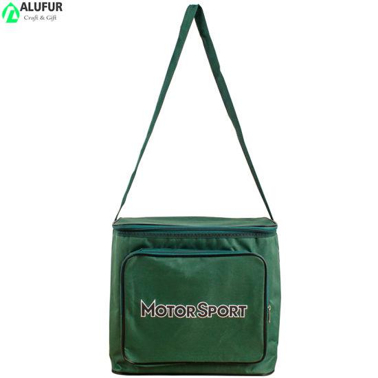 Prmotional Premium Cooler Bag Front Pocket with Sling Handle
