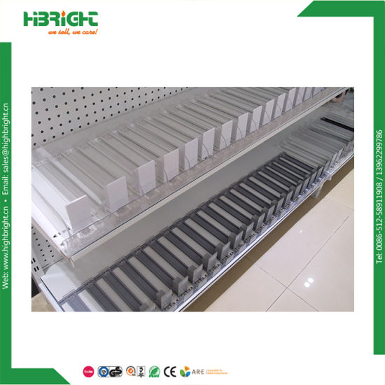 Supermarket Merchandiser Acrylic Shelf Cigarette Pusher pictures & photos