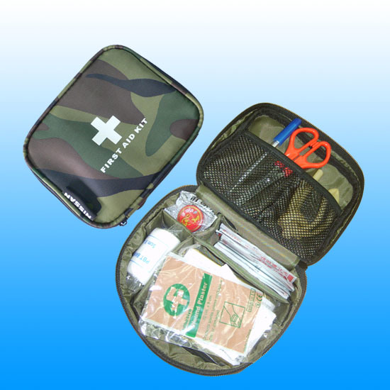 Ce, ISO, FDA Personal Travel First Aid Kit # Kbg-A033