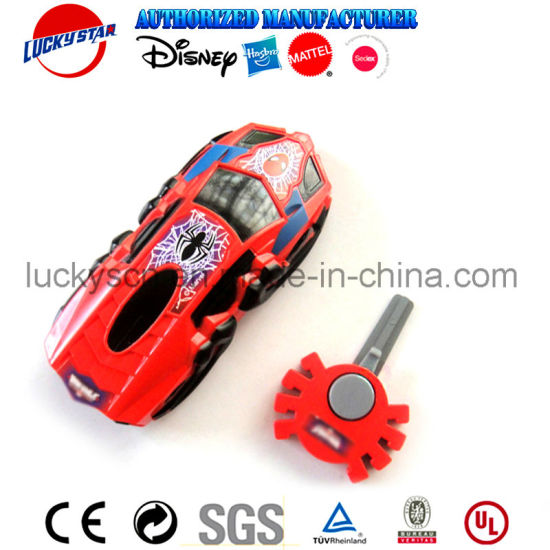 New Fashion Launcher Car Toy with Spider Key for Magazine Promotion