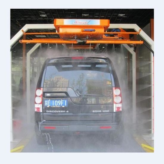 China Electric Hot Sale Foaming Mobile Car Wash System With Spray
