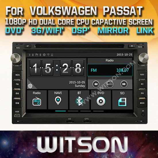 China Witson Windows Radio Stereo DVD Player for Volkswagen