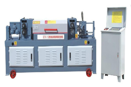 Top Quality Wire Straightening and Cutting Machine Gt 4-12