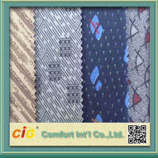 Auto Fabric Bus Fabric Print Fabric Jacuqrd Fabric Embossed Fabric for Auto Car Bus pictures & photos