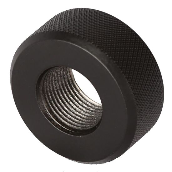 High Precision OEM Black Oxided Steel Adapter, Steel Thread Protector pictures & photos