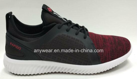067e67154d59 2018 Flyknit Yeezy Boost Footwear Casual Sports Running Shoe Sneaker for Men  and Women (817-109)