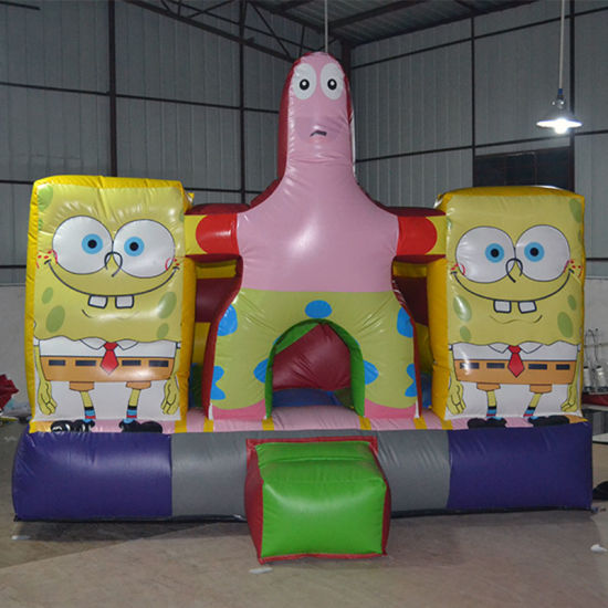 Inflatable Squarepants Bouncer for Amusement pictures & photos
