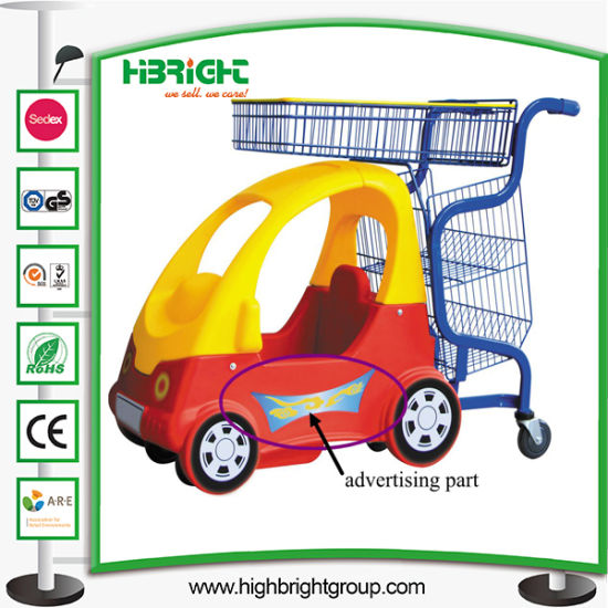Renting Baby Shopping Trolley Cart in Shopping Mall pictures & photos