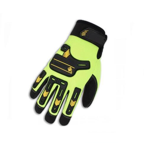 Cut Resistant TPR Anti-Impact Industrial Safety Work Gloves with Sandy Nitrile Coating
