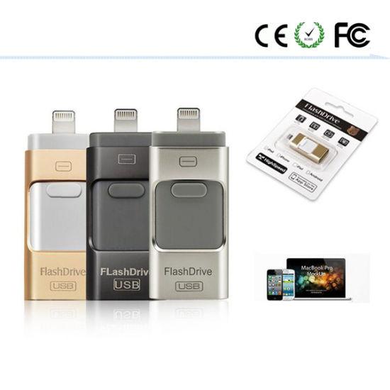 USB Gift OTG Phone Port USB Flash Drive Memory Stick Pendrive