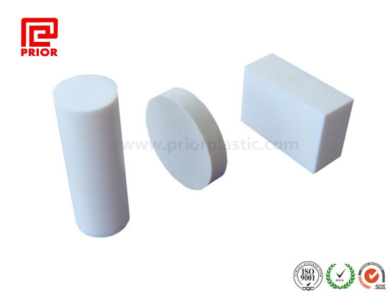 China Natural White Hard Plastic Teflon PTFE Board - China