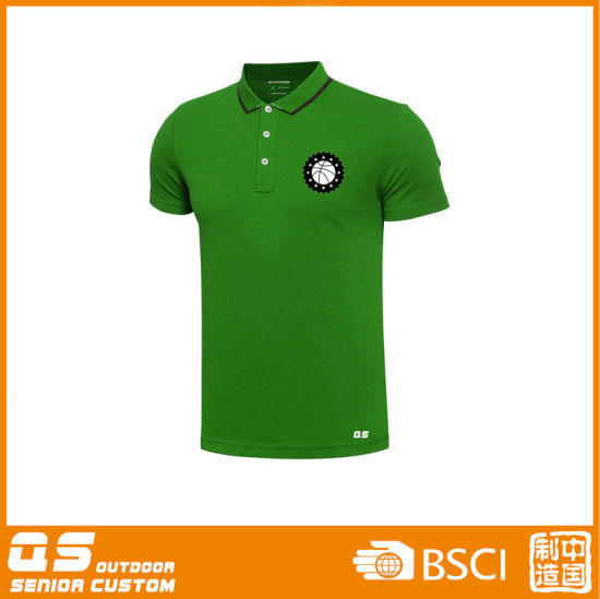Men′s Sports Polo Dry Fit T-Shirt pictures & photos