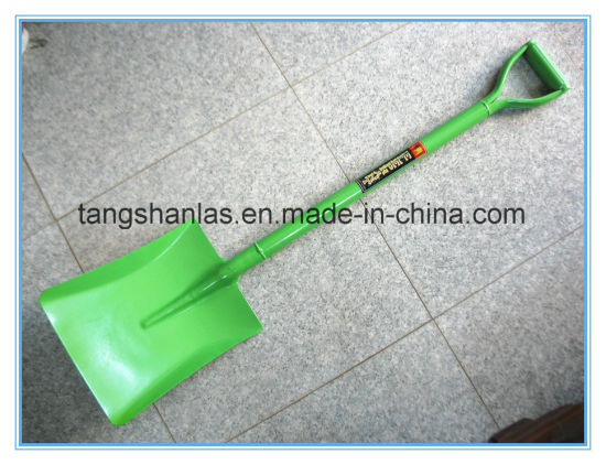 Shovel Welded Carbon Steel Handle Shovel for Farming Using pictures & photos