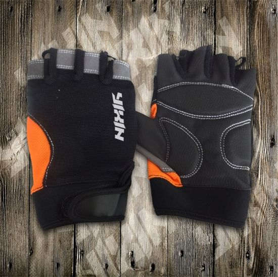 Bike Glove-Cycling Glove-Half Finger Glove-Safety Glove-Work Glove-Riding Glove pictures & photos