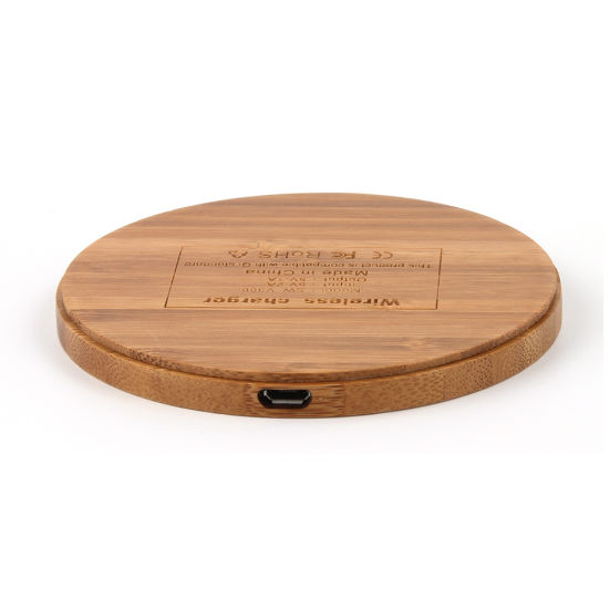 The Original Bamboo Wireless Charger pictures & photos