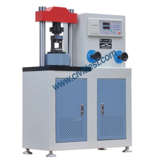 300kn Digital 2inch 50mm Cement Mortar Test Compression Testing Machine pictures & photos