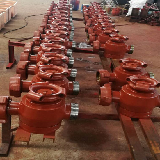API 6A Plug Valve for Oil Field pictures & photos