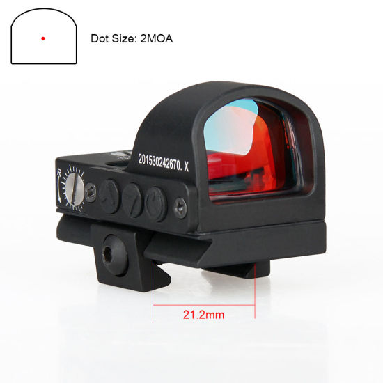 Tactical Mini Red DOT Scope for Hunting Airsoft Cl2-0078 pictures & photos