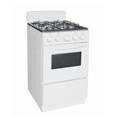 Free Standing Oven with Four Gas Burners