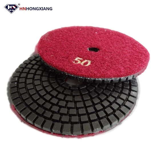 Diamond Flexible Polishing Pads Wet Style pictures & photos