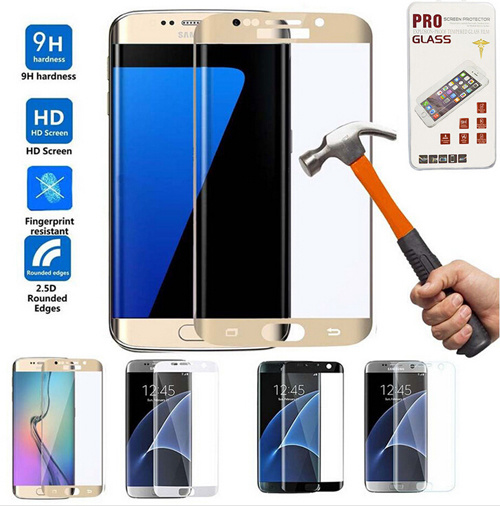 S7edge Full Cover Tempered Glass Film Screen Protector for Samsung S7 S7edge pictures & photos