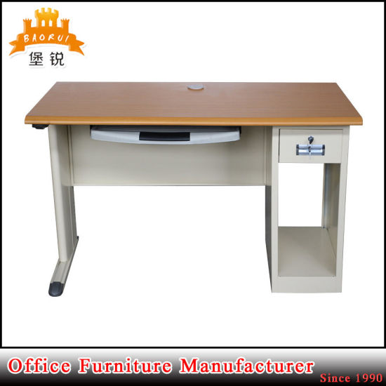 Cheap Metal Wood Computer Table pictures & photos