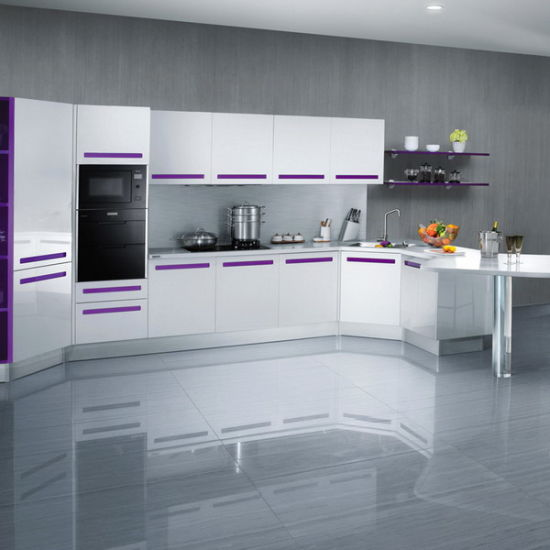 China Brazil Style Metal Kitchen Cabinets Cheap Factory Kitchen