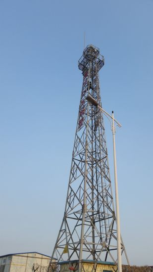 Self Supporting Galvanized Steel Lattice Telecom Tower pictures & photos
