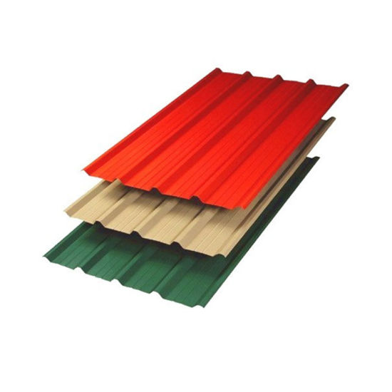 PPGI Roofing Material Prepainted Galvanized Corrugated Sheet Steel Roofing Sheet