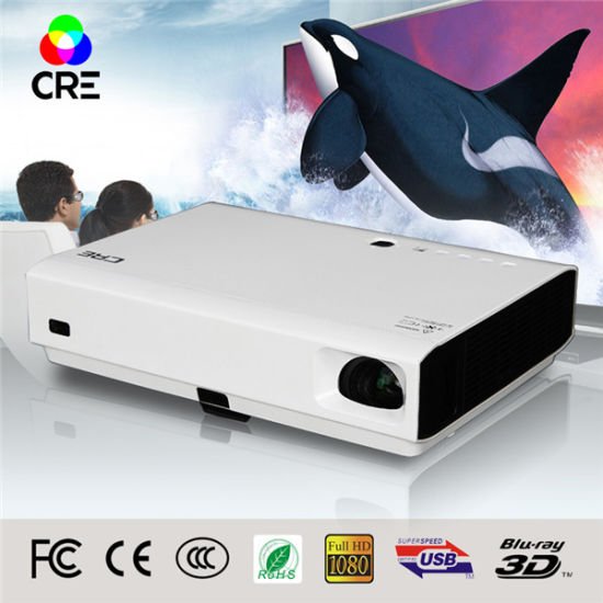 Home Theater Educational 3800 Lumens DLP 3D Projector pictures & photos