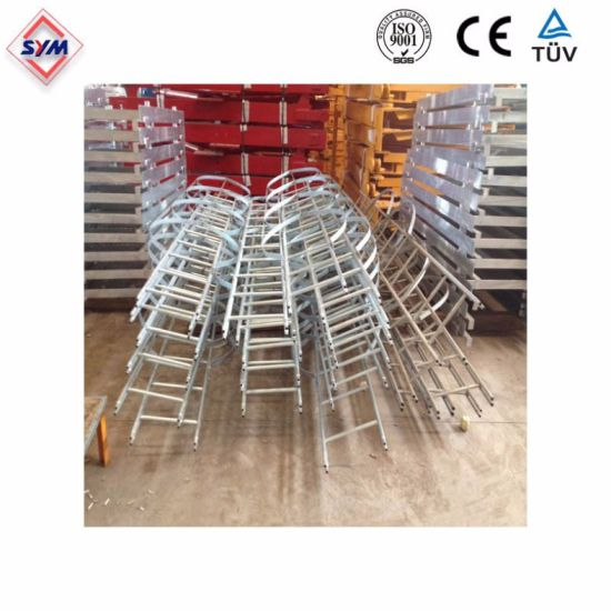 Ladder and Platform for Tower Crane Spare Parts