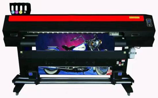 China 17m Large Format Eco Solvent Digital Flex Printer Machine