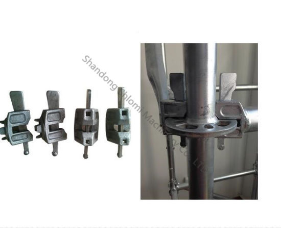 Ringlock Scaffolding Parts Ledger Head and Brace Head