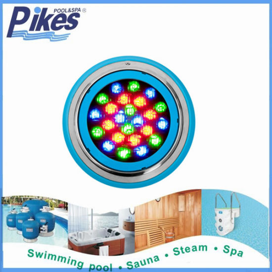 Factory Approved ISO9001 / CE / Roshswimming Pool Underwater LED Halogen Lamp Waterproof IP68 Pool Light