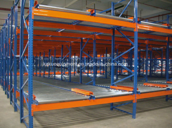 Heavy Duty Gravity Pallet Shelf for Industrial Warehouse Storage pictures & photos
