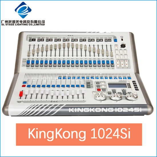 1024si Kingkong Lighting Console for DMX Light Controller Stage Mixer Board
