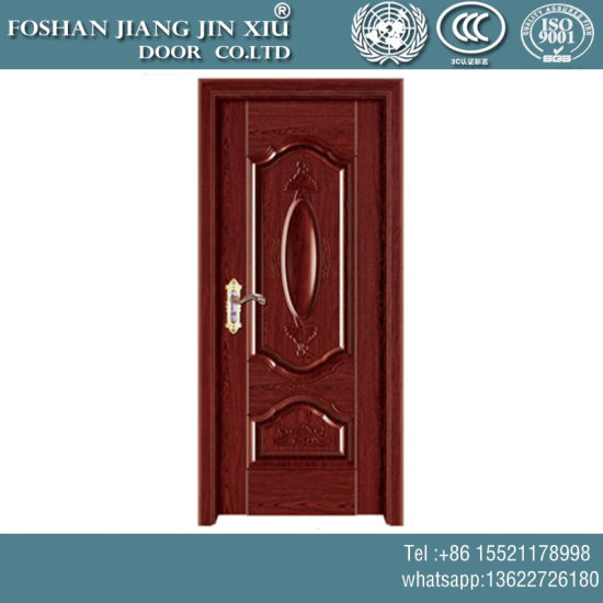 MDF PVC Wood Stainless Steel Plastic Security Door pictures & photos