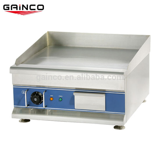 12mm Flat Top Griddle for Fast Food/Electric Griddle in Guangzhou