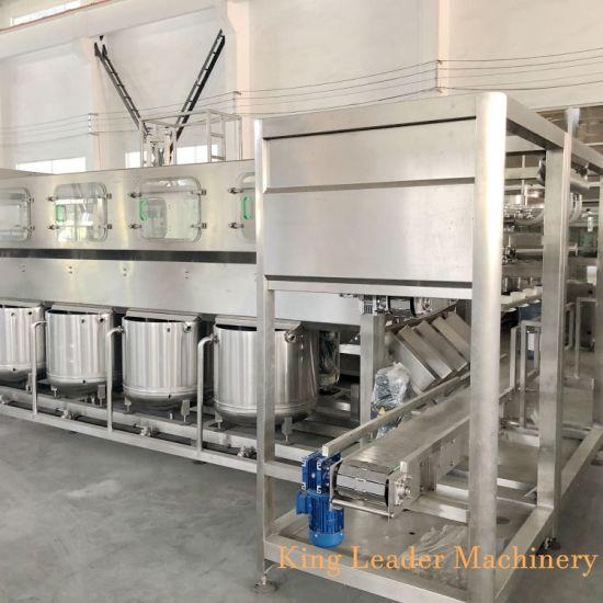 Automatic 5 Gallon Barreled Drinking Water Filling Machine