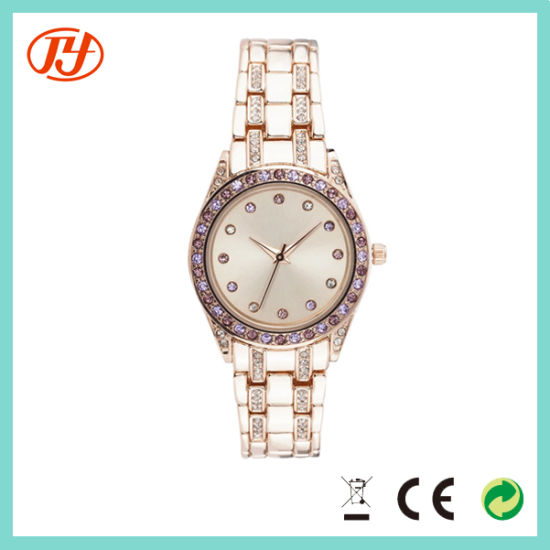 Unique Elegance Brand Fancy 5 Bar Waterproof Fashion Women Watches pictures & photos