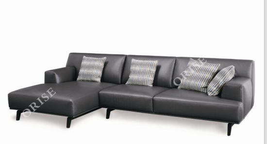 New Model Italian Leather Cover Modern Sofa Sets From Foshan China