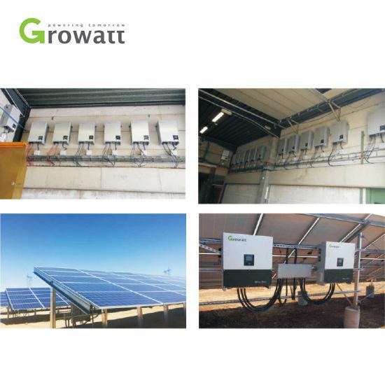 Growatt Solar Inverter on-Grid Electric Power Inverter 12kw 13kw 15kw  Inverter Solar Power System Grid Tie with Best Price
