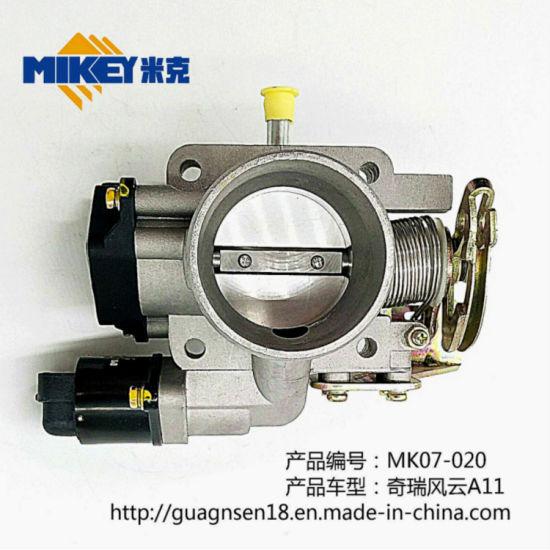 Throttle Assembly Car Valve Body. Automobile Sensor Car Parts Mk07-020 Chery Storm A11 (interconnection system) Chery 477/A5
