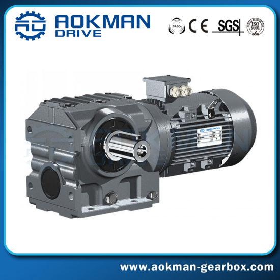High Torque Standard S Series Industrial Helical Worm Gearbox