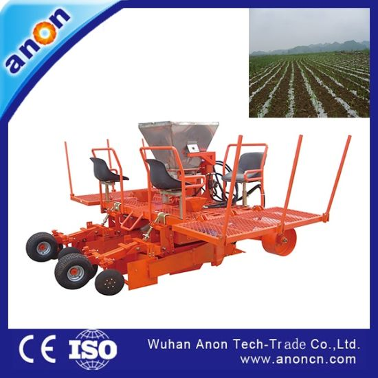 China Anon 3 Rows Sugarcane Planter Machine For Sale China