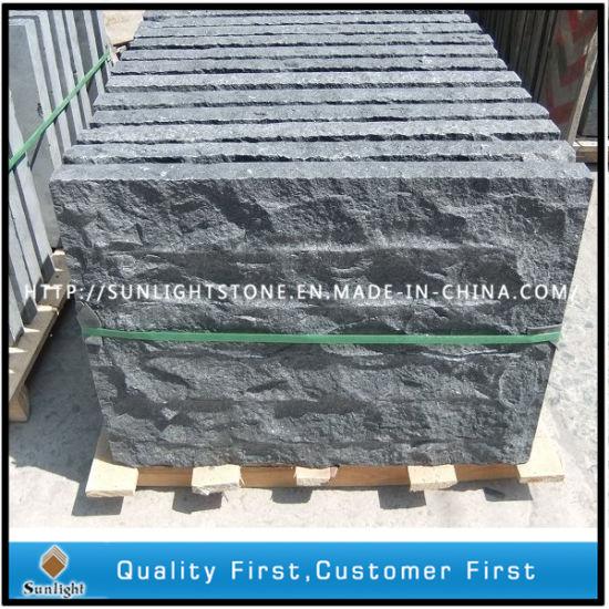 China Cheap G Black GraniteBasalt Curved Border Kerbstone For - Curved tile border