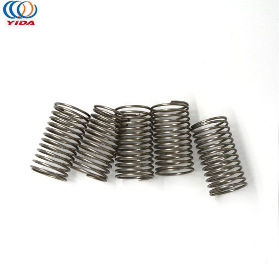 China Supply Carbon Steel Wire Flat Compressed Bonnell Coil Spring ...