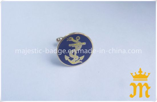 Personal Gift Commercial Gold Cufflink Hz 1001 F009