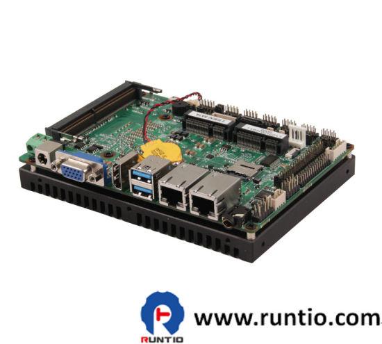Runtio Intel Skylake-U Series Processor with Intelligent Manufactul 3.5inch Motherboard with Smart Financial Equipment
