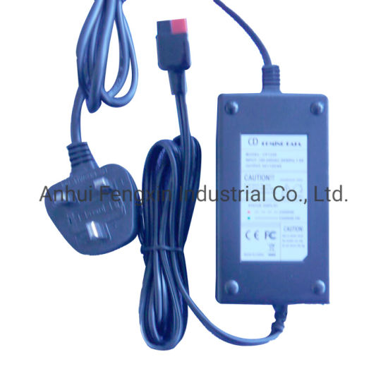 12V Wheelchair/Electric Trolley Adapter Charger Car Battery Charger for Lead Acid Battery